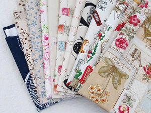 Всего два дня — скидки 25-50% на все ткани, ленты, кружево, рукодельности. Ярмарка Мастеров - ручная работа, handmade.