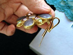Петельки для брошей, превращающие их в кулон. | Ярмарка Мастеров - ручная работа, handmade