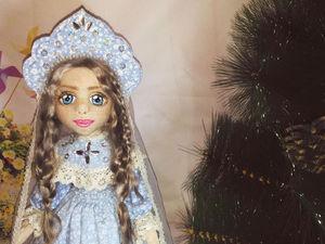 Шьем Снегурочку к Новому году. Ярмарка Мастеров - ручная работа, handmade.