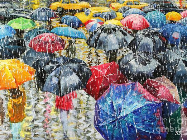 Художник, что рисует дождь... Теплая романтика неповторимых мгновений в работах Stanislav Sidorov и Jeff Rowland   Ярмарка Мастеров - ручная работа, handmade