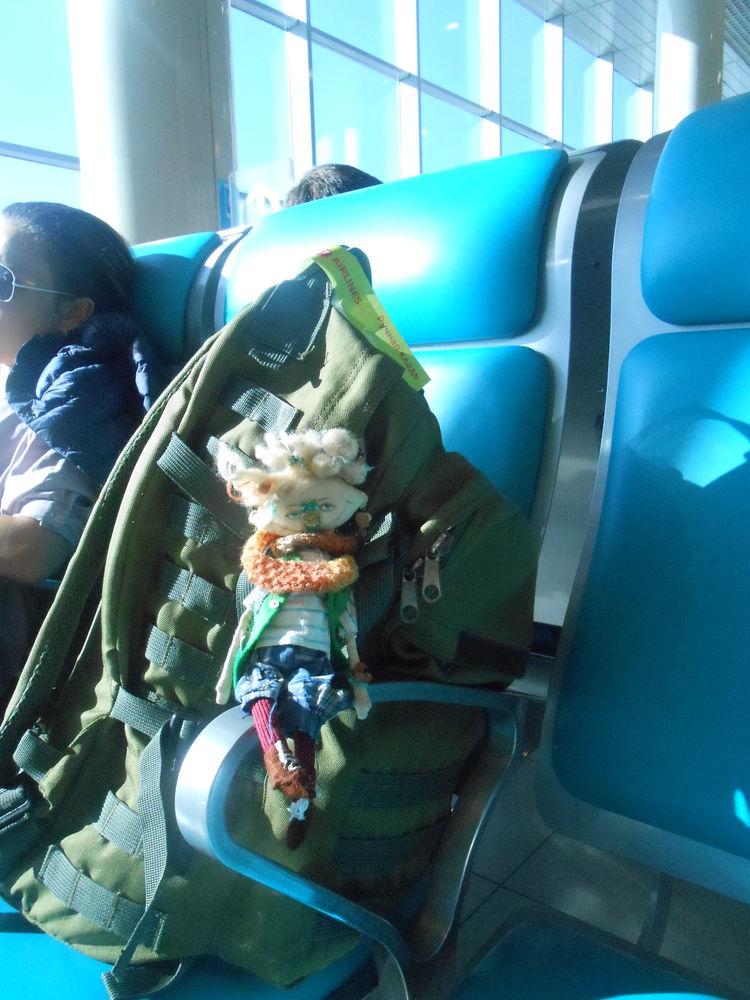 Ларнака. Путешествие чердачной куклы), фото № 2