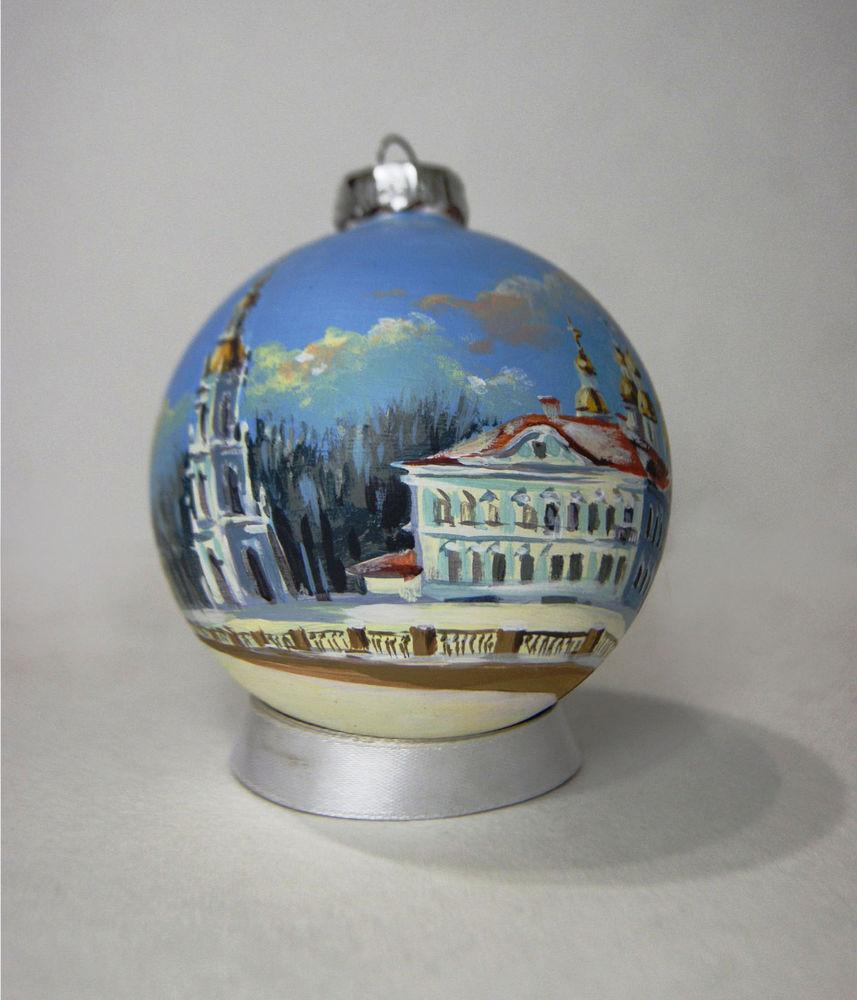 новогоднее украшение, сувенир, шар