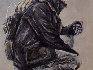 "День 75. Картина маслом на холсте ""Тимбот"". 40х50 см. Фото — Тимур Сахар. Ярмарка Мастеров - ручная работа, handmade."