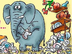 Слон... или о поведении в чужих блогах   Ярмарка Мастеров - ручная работа, handmade