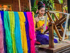 Северный Таиланд: производство натурального шелка. Ярмарка Мастеров - ручная работа, handmade.