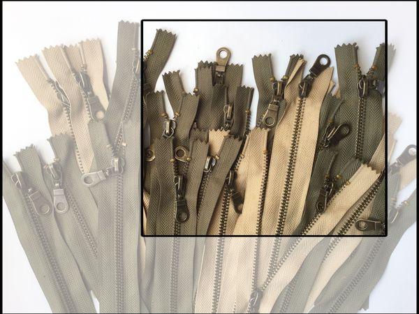 Мы закупили новую партию металлических молний цвета Антик для наших Ярких косметичек... | Ярмарка Мастеров - ручная работа, handmade