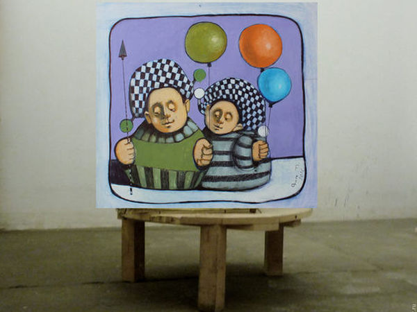 4-я Большая Лотерея в помощь художнику Гору + Копилочка | Ярмарка Мастеров - ручная работа, handmade
