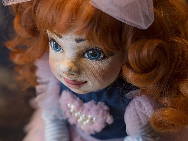Полина.Текстильная авторская кукла. | Ярмарка Мастеров - ручная работа, handmade