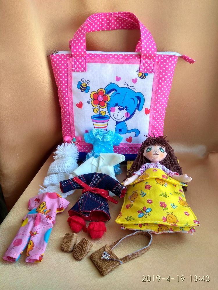 кукла со сменной одеждой