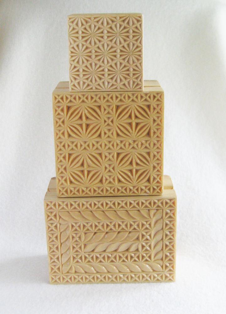 шкатулочка, геометрическая резьба