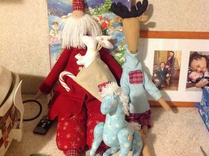 Мастер-класс Санта Клаус Тильда. Санкт-Петербург | Ярмарка Мастеров - ручная работа, handmade