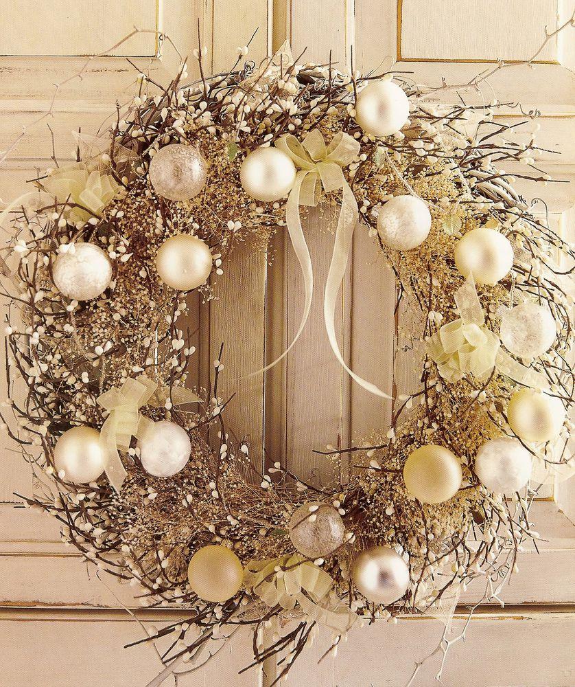 Новогодние венки на дверь