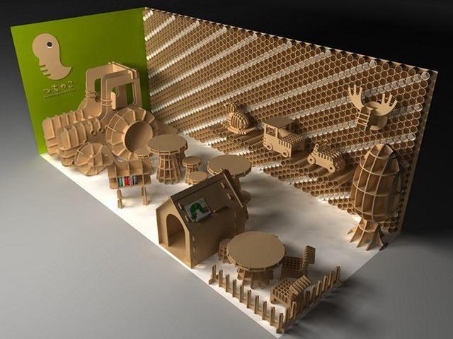 Мебель из картона - Ярмарка Мастеров - ручная работа, handmade
