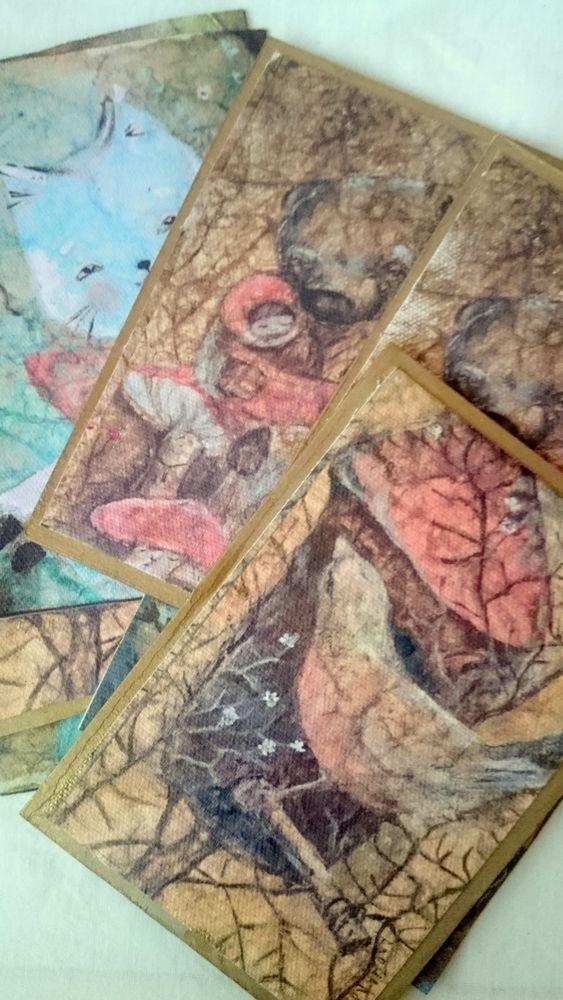 открытки, картины алёны коневой