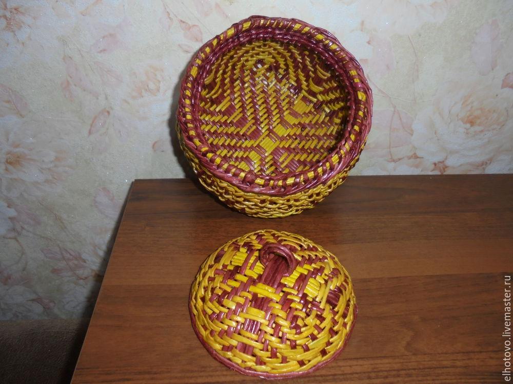 шкатулка с орнаментом, схемы для плетения, бумажная лоза, бумагоплетение