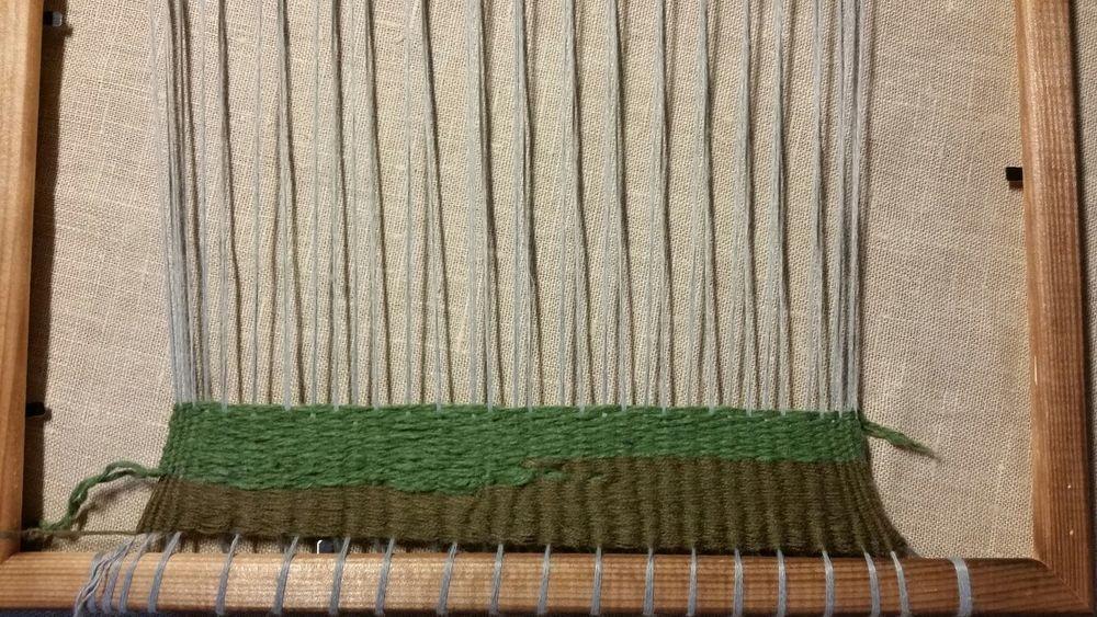 ткачетство, ткачество на рамке, новое увлечение