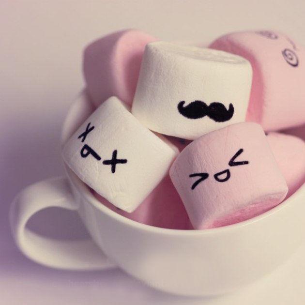 marshmallows, вязаная игрушка в подарок