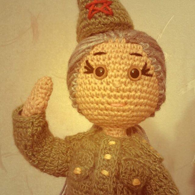 кукла, игрушка, вязаная игрушка, вязаная кукла