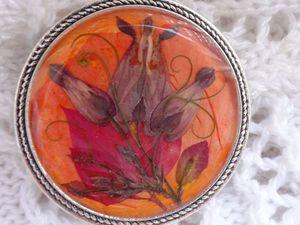 Немного моих композиций из сухоцветов в смоле (2016-2017 гг) | Ярмарка Мастеров - ручная работа, handmade