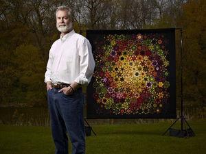 Чудеса из одного блока: текстильные калейдоскопы Bruce Seeds. Ярмарка Мастеров - ручная работа, handmade.