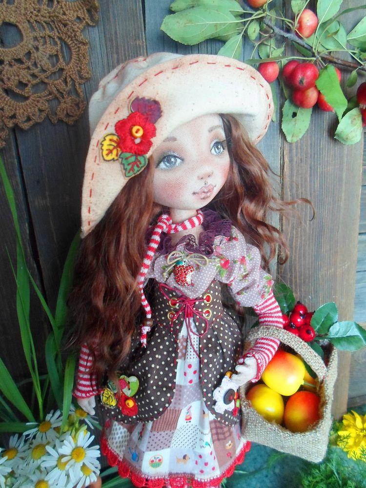 кукла ручной работы, подарок на день рождения