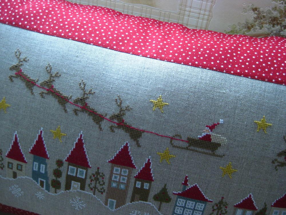 вышивка крестом, новогодний подарок, мулине