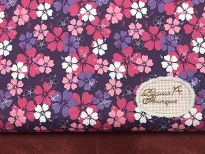 Новинка: Дюспо Полевые цветы на фиолетовом. Ярмарка Мастеров - ручная работа, handmade.