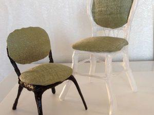 Мастер-класс: стульчик для куклы быстро и просто. Ярмарка Мастеров - ручная работа, handmade.