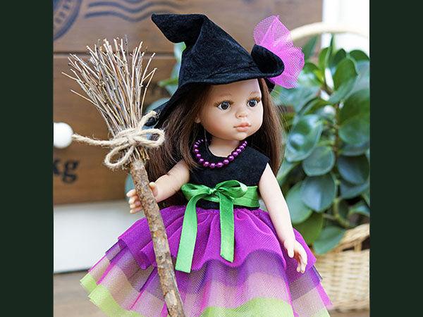 Выкройка костюма ведьмочки для кукол формата Paola Reina | Ярмарка Мастеров - ручная работа, handmade