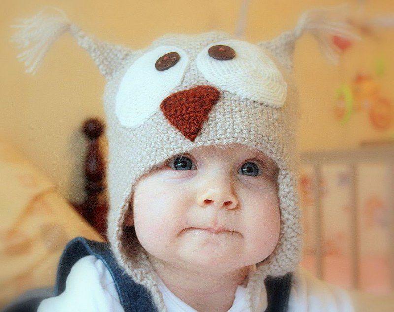 Вязание шапки крючком на ребенка 672