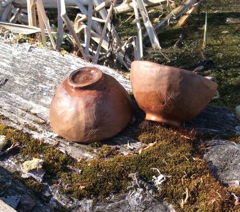 Две скорлупки времени.. Две чайные пиалы, фото № 6
