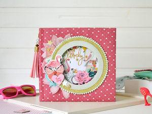 Фотоальбом с фламинго в наличии. Ярмарка Мастеров - ручная работа, handmade.