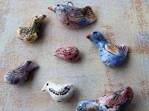 Наступает время птиц! Соберем бусы вместе?. Ярмарка Мастеров - ручная работа, handmade.