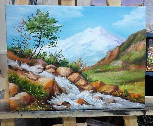 мастер-класс по живописи, уроки живописи, курсы рисования, подарок