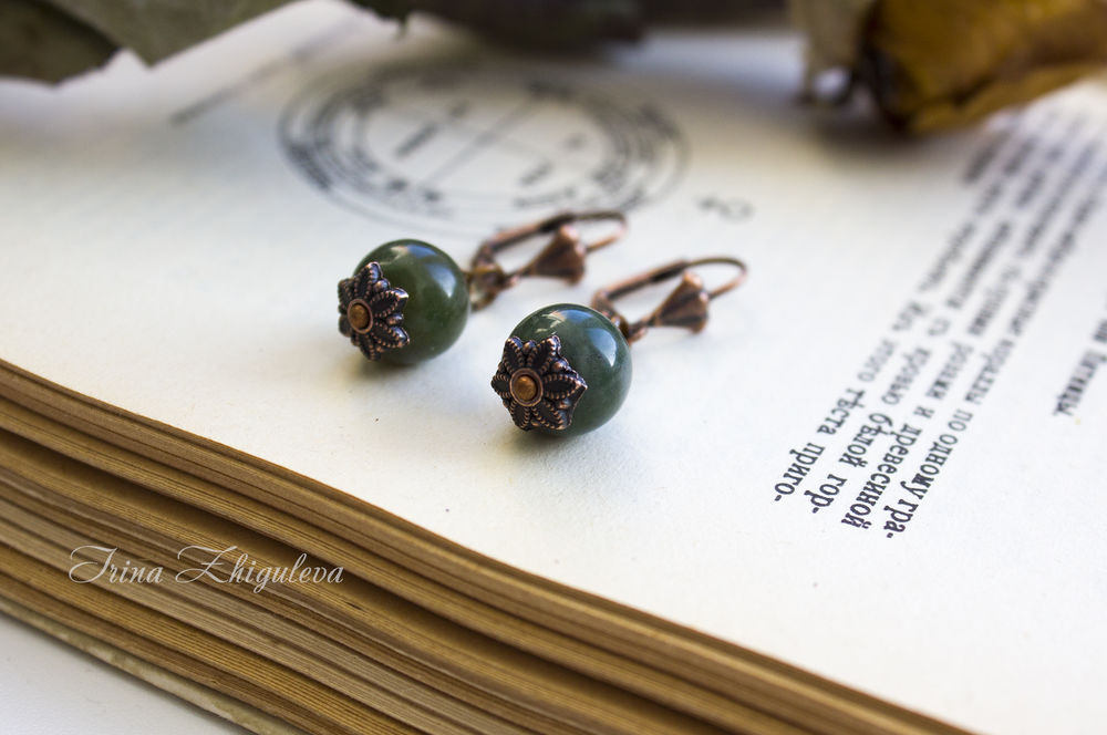 натуральные камни, чокер, 2017 год, ведьма