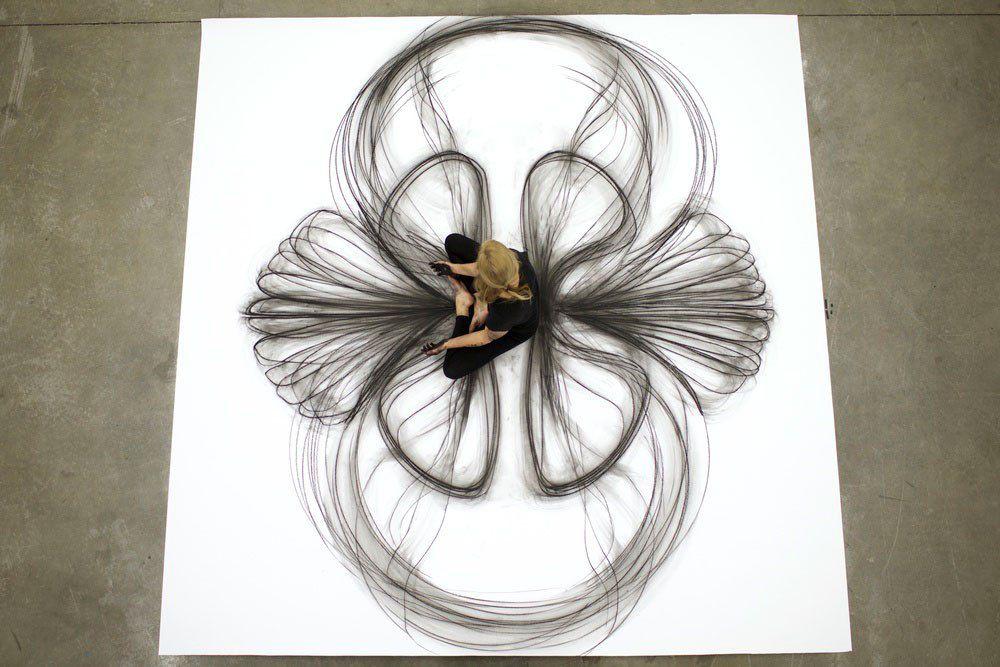 heather hansen kinetic drawings performance at ochi gallery (1)