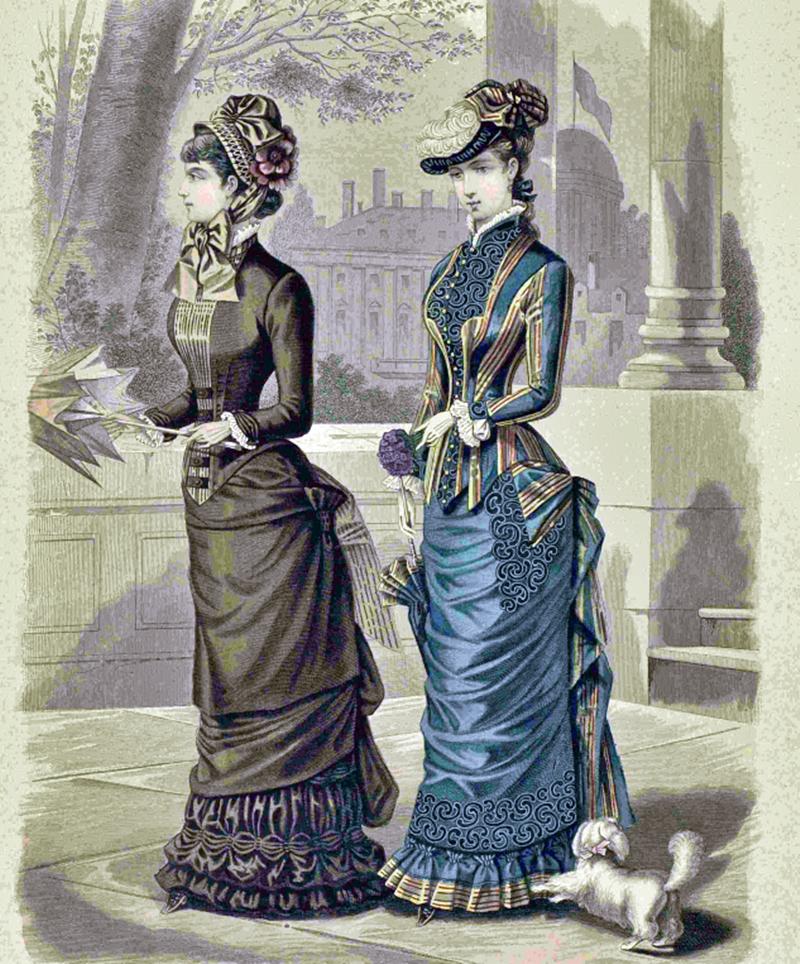 Восхитительная мода конца ХIХ века, фото № 18