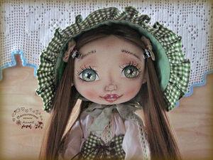 Текстильная кукла Юна. Ярмарка Мастеров - ручная работа, handmade.