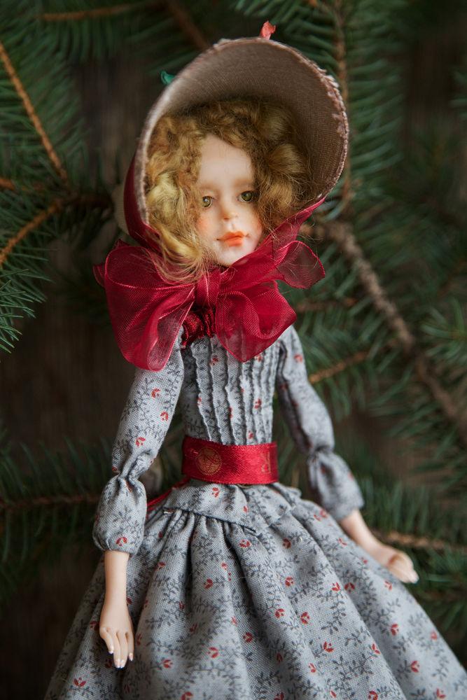 Дополнительные фотографии куклы ручной работы Софии., фото № 6