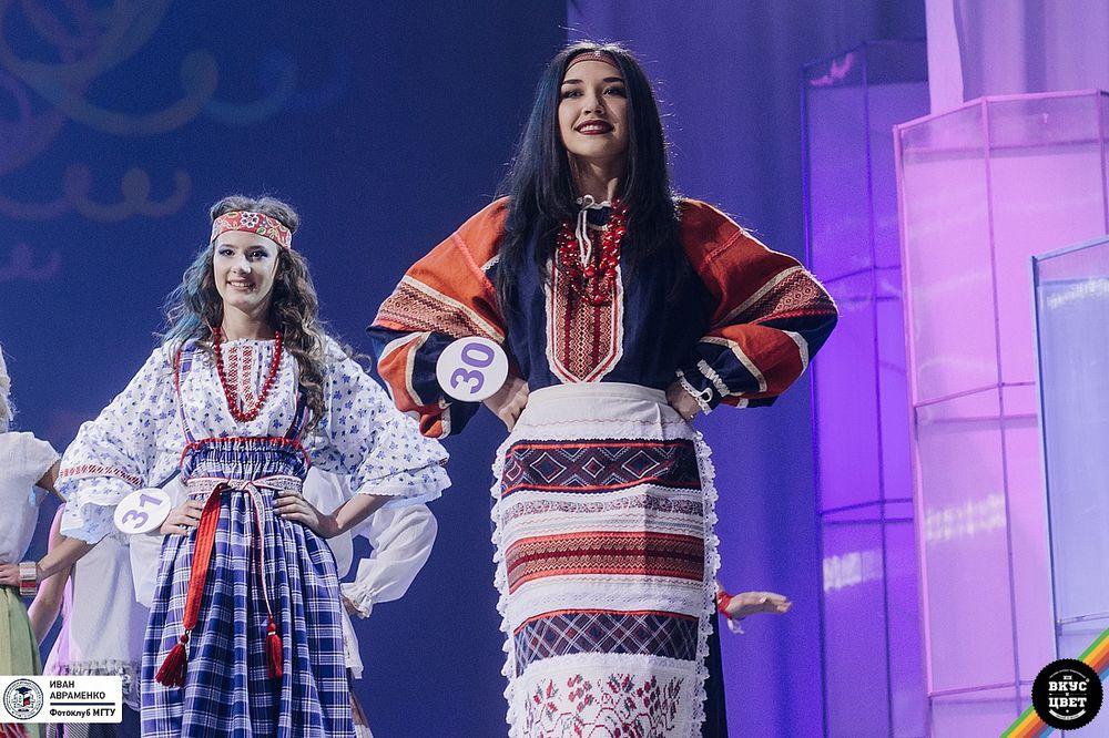 русские традиции, платье в пол