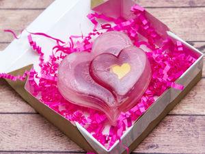 Создаем расписное мыло «Валентинка» из основы своими руками. Ярмарка Мастеров - ручная работа, handmade.