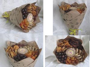 Букет из сухофруктов. Ярмарка Мастеров - ручная работа, handmade.