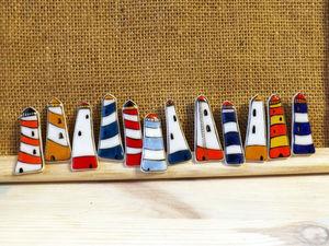 Броши-маяки, особенное предложение!. Ярмарка Мастеров - ручная работа, handmade.