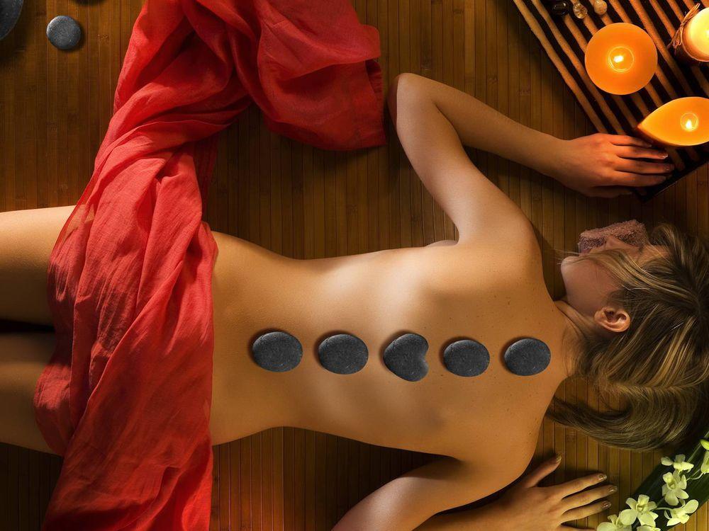 массаж девушек фото