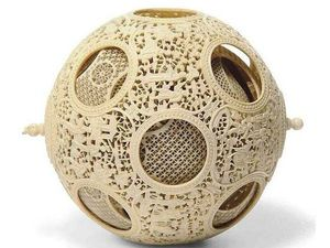 The Art of Stone Carving: Devils Puzzle Balls. Livemaster - handmade