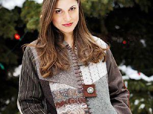 Переделка со вкусом, или Как дать винтажному свитеру вторую жизнь. Ярмарка Мастеров - ручная работа, handmade.