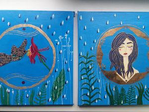 Рассказываю о двух картинах. Ярмарка Мастеров - ручная работа, handmade.