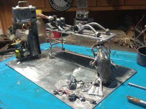 Процесс создания анестезиолога-дайвера. Ярмарка Мастеров - ручная работа, handmade.