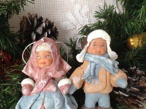 Аукцион на елочную ватную игрушку!. Ярмарка Мастеров - ручная работа, handmade.