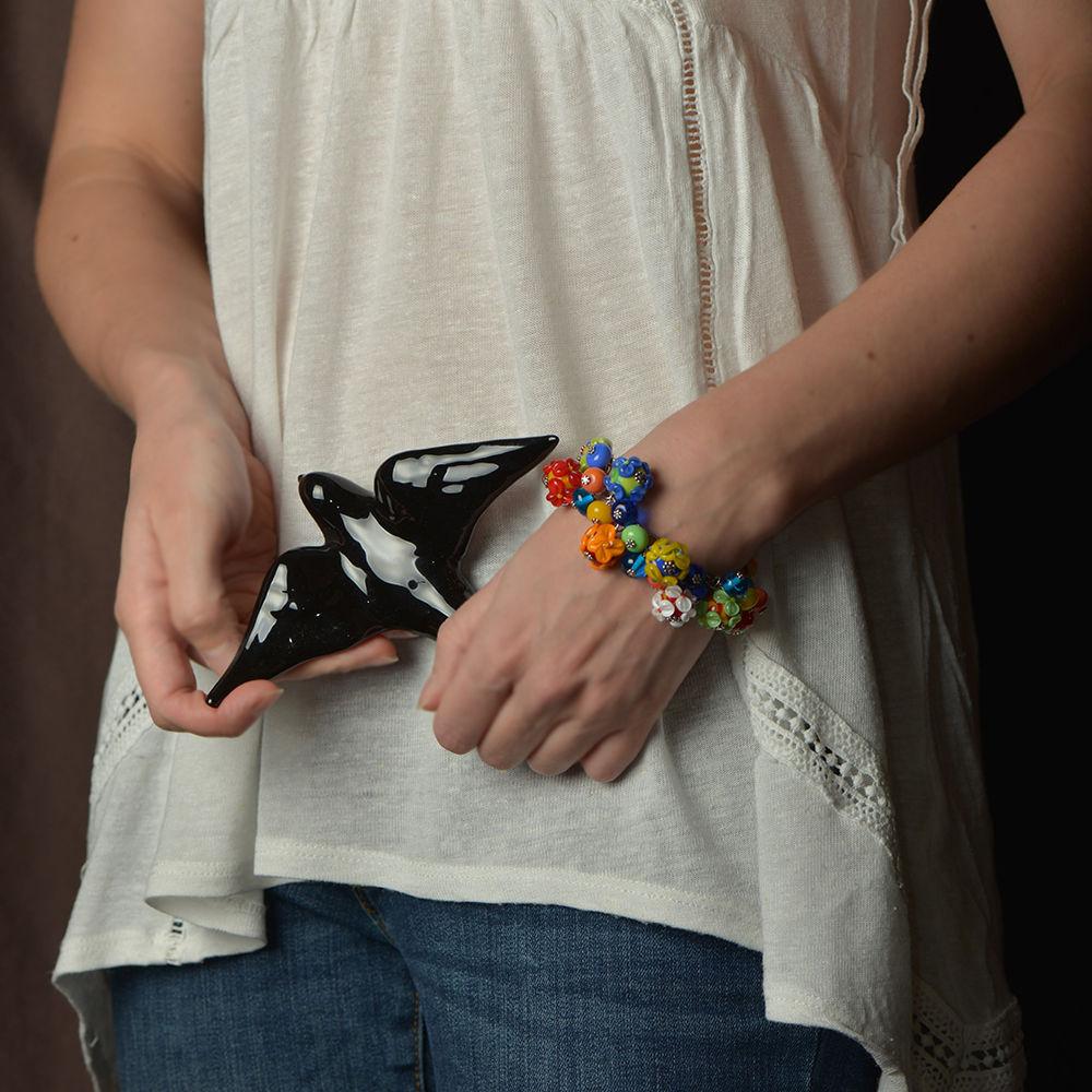браслеты ручной работы, муранское стекло